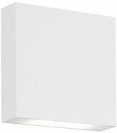 Kuzco AT6606-WH Mica Contemporary White LED Outdoor Wall Sconce Light