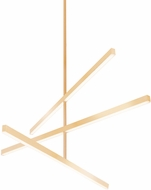 Kuzco CH10345-GD Vega Contemporary Gold LED 45  Lighting Chandelier