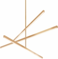 Kuzco CH10356-GD Vega Contemporary Gold LED 56  Hanging Chandelier