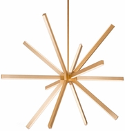 Kuzco CH14348-GD Sirius Contemporary Gold LED 48  Chandelier Lamp