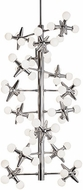 Kuzco CH51020-CH Jax's Contemporary Chrome LED Chandelier Lighting