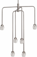 Kuzco CH52124-BN Honeycomb Contemporary Brushed Nickel LED Mini Lighting Chandelier