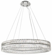 Kuzco CH78241 Solaris Chrome LED 41  Drum Ceiling Light Pendant