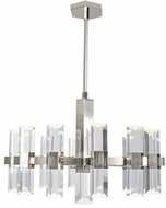 Kuzco CH9432-PN Holm Contemporary Polished Nickel LED Lighting Chandelier