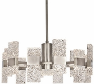 Kuzco CH9528-PT Oslo Modern Platinum LED Chandelier Light