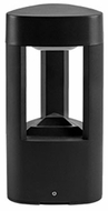 Kuzco EB0412-BK Modern Black LED Outdoor 12  Post Light