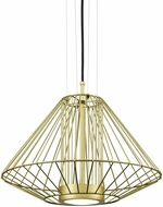 Kuzco EP68320-GD Arctic Modern Gold LED Exterior 20  Pendant Light