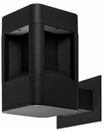 Kuzco EW0108-BK Modern Black LED Outdoor 4.625  Sconce Lighting