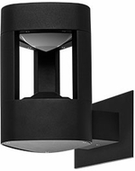 Kuzco EW0408-BK Contemporary Black LED Outdoor 5  Light Sconce