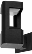 Kuzco EW0508-BK Modern Black LED Outdoor 6  Lighting Sconce