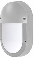 Kuzco EW1308-GY Modern Gray LED Outdoor 5.25  Wall Sconce Lighting