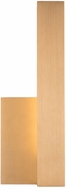 Kuzco EW13212R-GD Warner Modern Gold LED Exterior Lamp Sconce