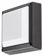 Kuzco EW1406-BK Contemporary Black LED Outdoor 5.625  Wall Lighting Sconce