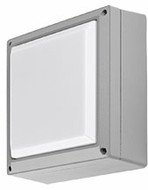 Kuzco EW1406-GY Modern Gray LED Outdoor 5.625  Wall Sconce Lighting