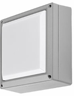 Kuzco EW1408-GY Modern Gray LED Outdoor 8.5  Wall Light Sconce