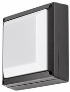Kuzco EW1411-BK Contemporary Black LED Outdoor 10.625  Wall Lighting Fixture