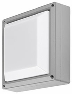 Kuzco EW1411-GY Modern Gray LED Outdoor 10.625  Wall Light Sconce