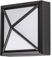 Kuzco EW1508-BK Contemporary Black LED Outdoor 8.5  Wall Lamp