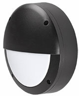 Kuzco EW1606-BK Contemporary Black LED Outdoor 5.875  Lighting Sconce