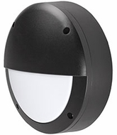 Kuzco EW1609-BK Contemporary Black LED Outdoor 8.75  Wall Sconce Lighting
