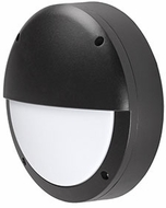 Kuzco EW1611-BK Contemporary Black LED Outdoor 10.875  Lighting Wall Sconce