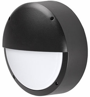 Kuzco EW1614-BK Contemporary Black LED Outdoor 13.875  Wall Sconce Lighting