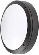 Kuzco EW1711-BK Contemporary Black LED Outdoor 10.875  Wall Sconce