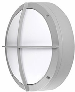 Kuzco EW1809-GY Modern Gray LED Outdoor 8.75  Wall Sconce Lighting