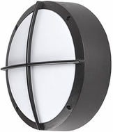 Kuzco EW1814-BK Contemporary Black LED Outdoor 13.875  Wall Lighting Sconce