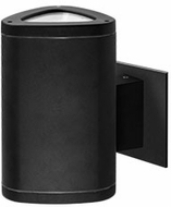 Kuzco EW2008-BK Contemporary Black LED Outdoor 5  Wall Mounted Lamp