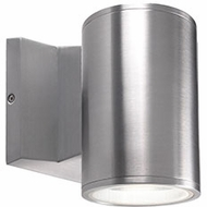 Kuzco EW3105-SV Contemporary Silver LED Outdoor 3.5  Lighting Sconce