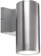 Kuzco EW3107-SV Modern Silver LED Outdoor 3.5  Wall Light Fixture