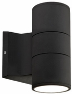 Kuzco EW3207-BK Contemporary Black LED Outdoor 3.5  Lighting Wall Sconce