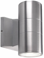 Kuzco EW3207-SV Contemporary Silver LED Outdoor 3.5  Wall Sconce Lighting