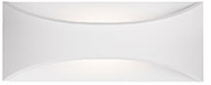 Kuzco EW3609-WH Contemporary White LED Outdoor 8.75 Wall Lighting Sconce