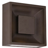 Kuzco EW6308-ES Baltic Modern Espresso LED Outdoor 8  Wall Light Sconce