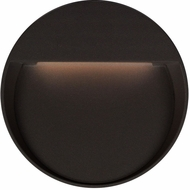Kuzco EW71205-BK Mesa Contemporary Black LED Outdoor 6  Light Sconce