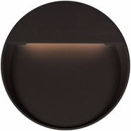 Kuzco EW71209-BK Mesa Contemporary Black LED Outdoor 9  Lamp Sconce