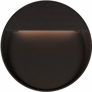Kuzco EW71211-BK Mesa Contemporary Black LED Outdoor 11  Wall Light Fixture