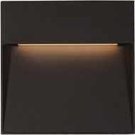 Kuzco EW71305-BK Casa Contemporary Black LED Outdoor 4.5  Wall Lighting Sconce