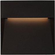 Kuzco EW71311-BK Casa Contemporary Black LED Outdoor 8  Wall Lighting Fixture