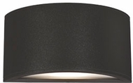 Kuzco EW9010-BK Olympus Contemporary Black LED Outdoor 10  Wall Lighting