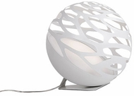 Kuzco FL2514-WH Neptune Modern White LED Accent Floor Lamp