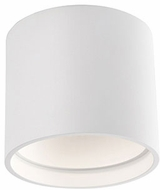 Kuzco FM10605-WH Contemporary White LED 5.125  Flush Mount Lighting Fixture