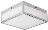 Kuzco FM11210-CH Contemporary Chrome LED 9.8  Overhead Lighting Fixture