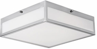Kuzco FM11216-CH Contemporary Chrome LED 15.75  Ceiling Light