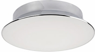 Kuzco FM11313-CH Modern Chrome LED 13  Ceiling Light Fixture