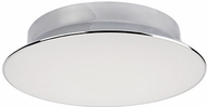 Kuzco FM11318-CH Contemporary Chrome LED 17.75  Ceiling Lighting Fixture
