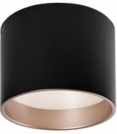 Kuzco FM11410-BK Modern Black LED 9.8  Ceiling Light Fixture