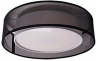 Kuzco FM11420-BK Covina Modern Black LED 19.625  Home Ceiling Lighting